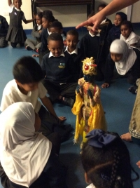 Year 2 had a great time watching a fantastic puppet show!