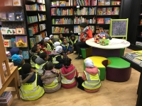 Year 1 walk to Waterstones!