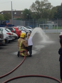 Visit from Avon Fire Brigade