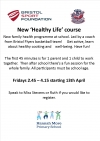 New 'Healthy Life' course