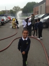 Year 2's fun with the Fire Brigade!