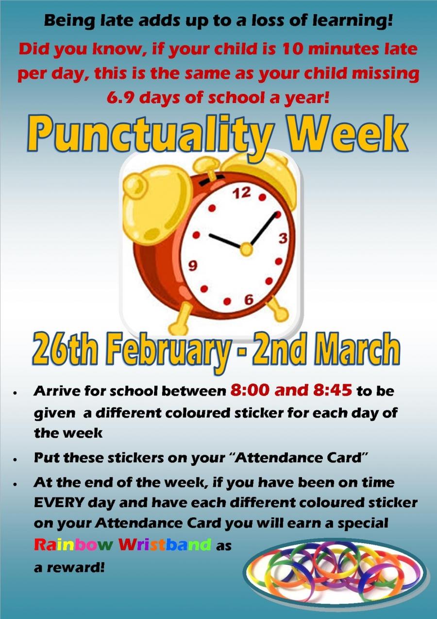 Punctuality week