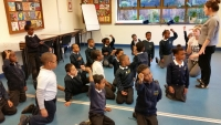 Year 2 enjoy a drama workshop!